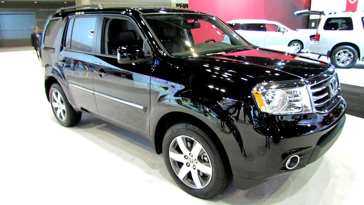 Great 2014 Honda Pilot Touring 4WD   Exterior And Interior Walkaround   2014  Chicago Auto Show   YouTube