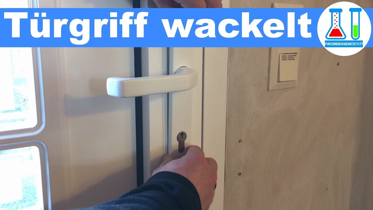 haust r t rgriff wackelt ist locker reparieren in wenigen sekunden rws aluminium t r youtube. Black Bedroom Furniture Sets. Home Design Ideas