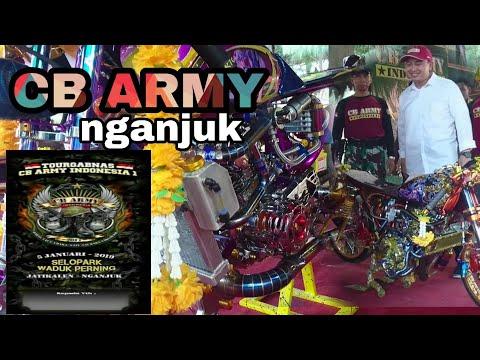 CB ARMY NGANJUK || Honda Cb 100 Cool Motor Bike In Indonesia Contest