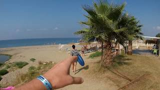 Турция 2019 Дорога от нашего отеля Happy Beach до моря
