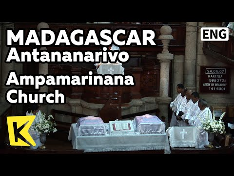 【K】Madagascar Travel-Antananarivo[마다가스카르 여행-안타나나리보]암파마리나나 교회/Ampamarinana Church/Christianity/Martyr
