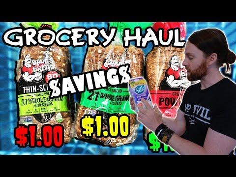 Vegan On A Budget - Grocery Haul   HUGE Savings