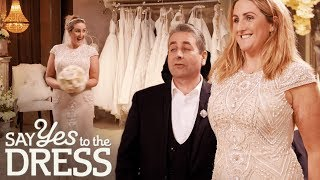 Is This Vintage Gown Bridal Enough? | Say Yes To The Dress Ireland
