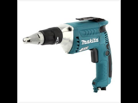How to replace Armature Switch and Brushes on, Makita drywall screwdriver drill Fs4300