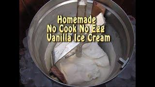 NO COOK HOMEMADE ICE CREAM-EGGLESS HOME CHURNED ICE CREAM