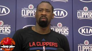 DeAndre Jordan On The Clippers Signing Kevin Garnett As A Consultant. HoopJab NBA