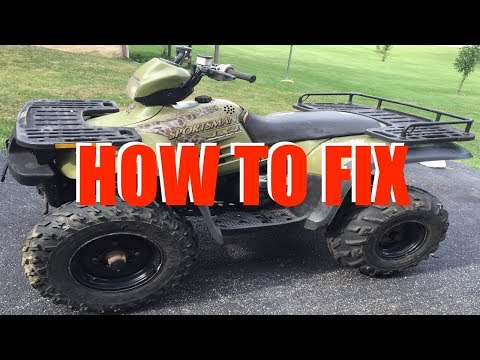 Polaris Sportsman Won't Start (90 300 400 500 600 700 800