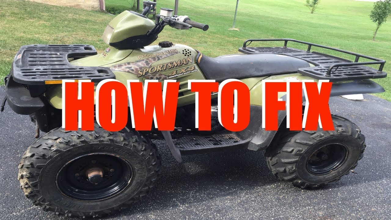 maxresdefault polaris sportsman won't start (90 300 400 500 600 700 800) youtube