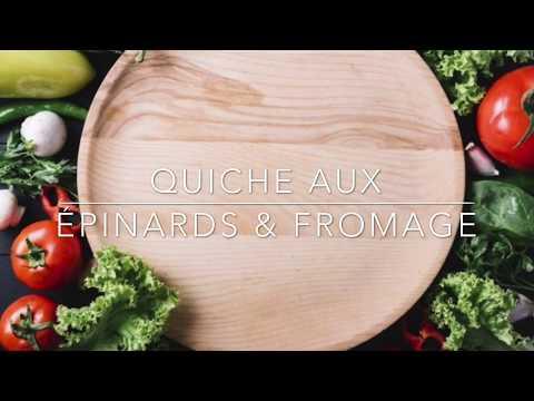 quiche-aux-Épinards-et-fromage