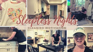 Sleepless Nights - CLEANING MOTIVATION WITH A SICK TODDLER