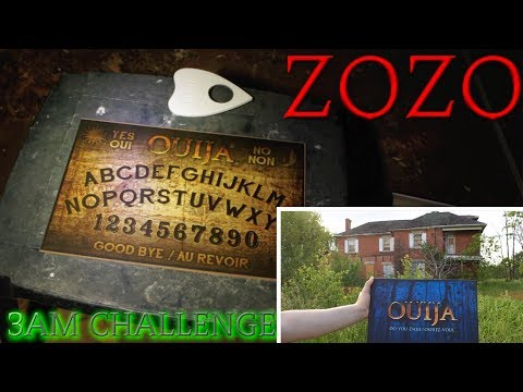 (GONE WRONG) OUIJA BOARD CONTACTING ZOZO / 3AM CHALLENGE