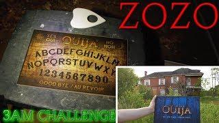 (GONE WRONG) OUIJA BOARD CONTACTING ZOZO / 3AM CHALLENGE