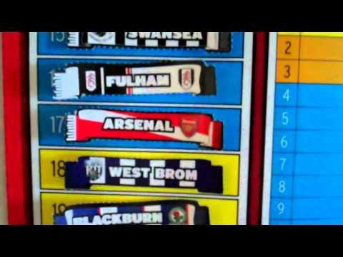 Premier League Table Week by Week 2011 Premier League Table After