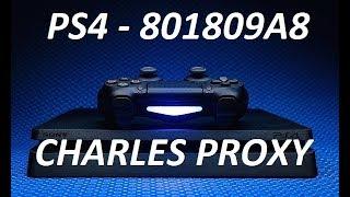 ERRO 801809A8 PS4 PROXY: TUTORIAL COMO USAR O CHARLES PROXY  ENTRE NA PSN SEM ATUALIZAR O FIRMWARE