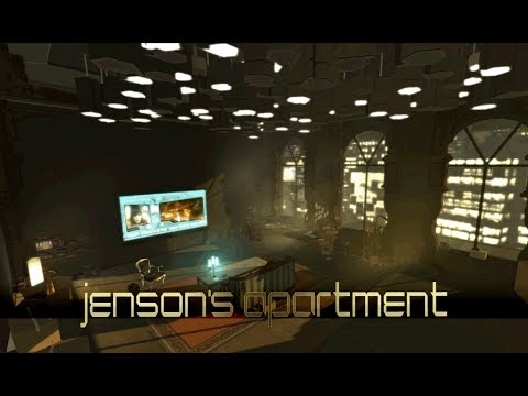 Deus Ex: Human Revolution - Jensen's Apartment (1 Hour of Ambience)