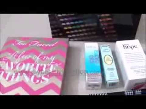 Makeup and skincare haul from Sephora-Middle East: Part I
