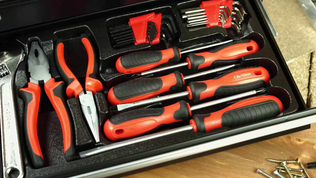 Nc3872 Valise A Outils 133 Pieces Wzk 1337s