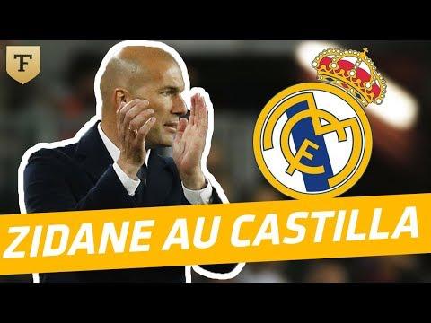 40 ans Téléfoot : Quand Zidane entraînait la réserve du Real Madrid