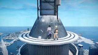 GTA 4 Naruto vs Sasuke