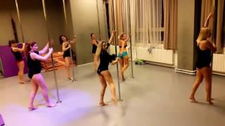 Pole Dance Choreo for int./adv. level - by Růženka & her students