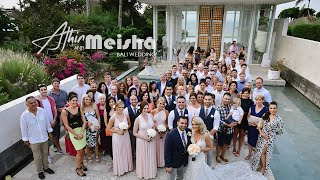 bali wedding video athin meisha ayana resort spa