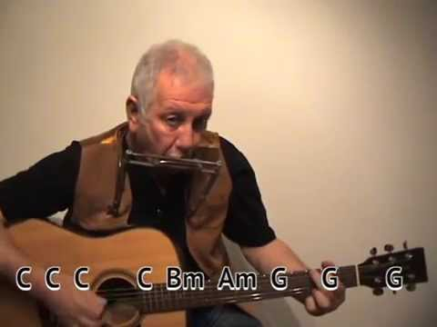 Heart Of Gold Cover Easy Chords Guitar Lesson On Screen Chords
