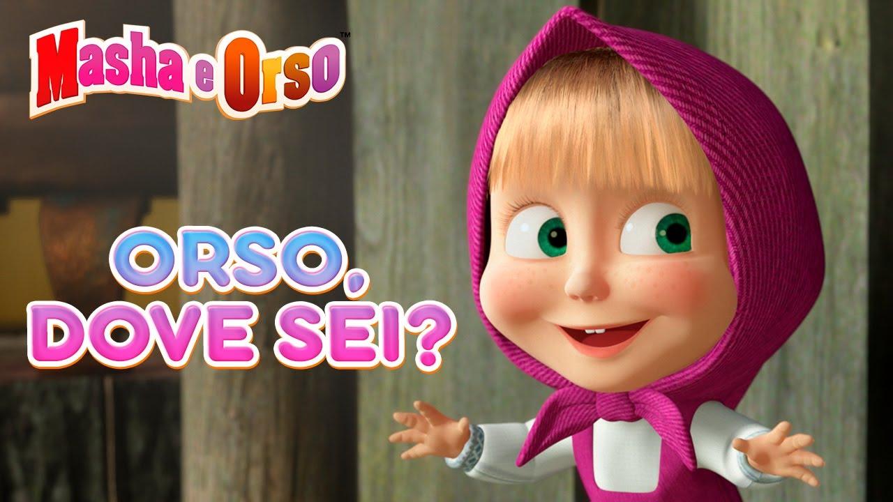 Masha e Orso 🐻❓ Orso, dove sei? ❓🐻 Collezione di episodi💥 Cartoni animati per bambini
