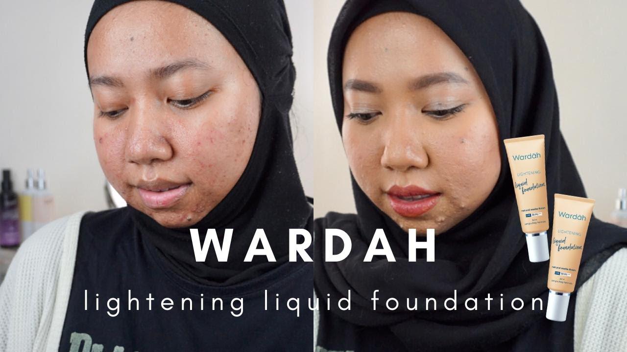 Wardah Lightening Liquid Foundation Review   Laninka Siamiyono