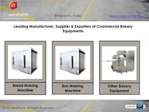 Bakery Equipments Manufacturers in India - Baking Oven - Bangalore