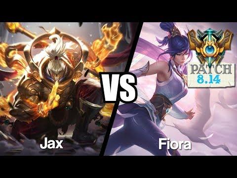 Vidéo d'Alderiate : [FR] ALDERIATE - JAX VS FIORA - 8.14 - CHALLENGER
