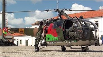Helicopter Alouette 3 - Engine Start Up (Sound)