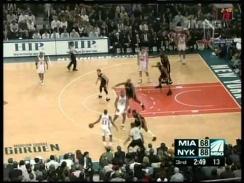 Jamal Crawford 52 pts, season 2007 knicks vs heat