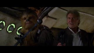 Star Wars: TFA - Han and Chewie back on the Millennium Falcon