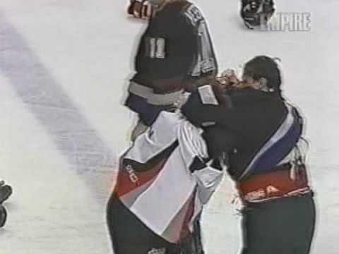 Sean Burke vs Steve Shields, Donald Brashear vs Darryl Shannon Jan 15, 1998