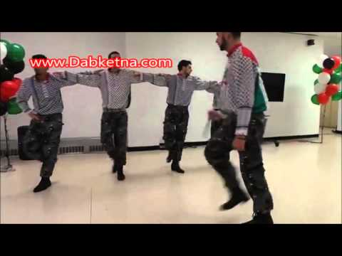 Palestinian Dabke with good energy 2014 Dabke