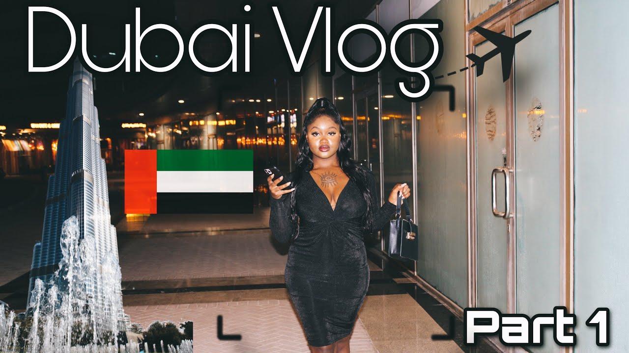 DUBAI VLOG PT. 1 | BAECATION | BIRTHDAY TRIP |