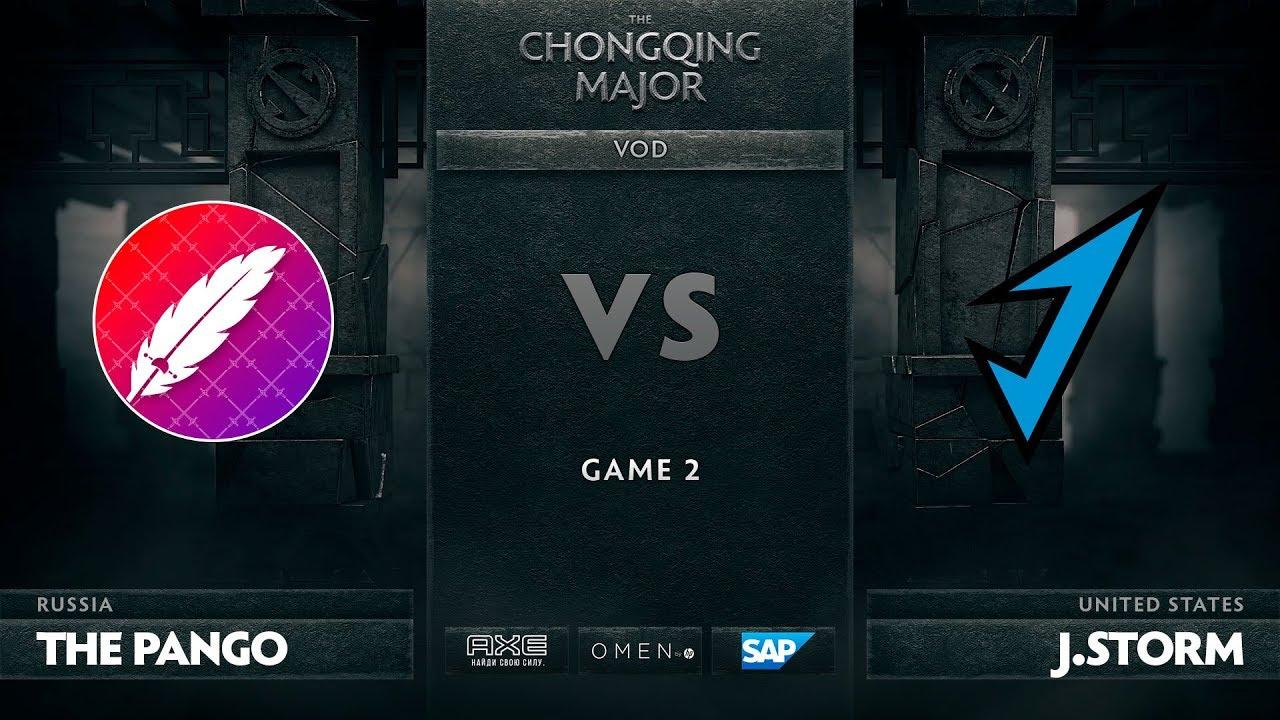 [RU] The Pango vs J.Storm, Game 2, The Chongqing Major, Group C