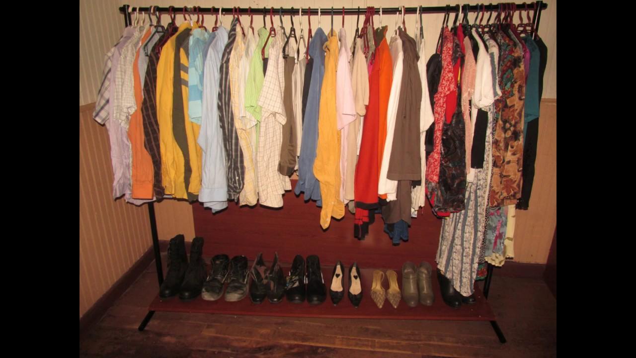 Construcci n de un colgador para ropa desmontable youtube for Colgador ropa pared