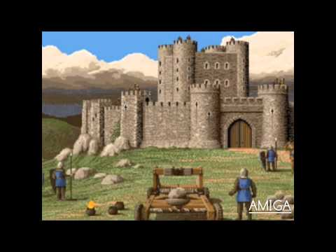 Defender of the Crown Amiga vs. DOS trailer