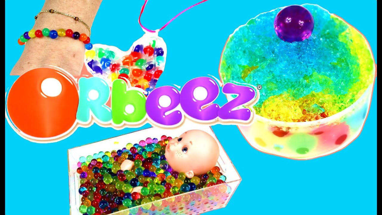 What To Do With Orbeez Orbeez Crafts And Games Youtube
