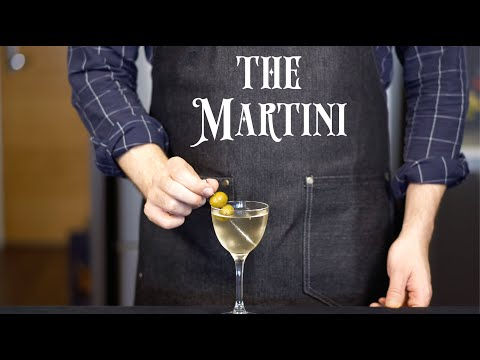 Basic Cocktails - The Martini