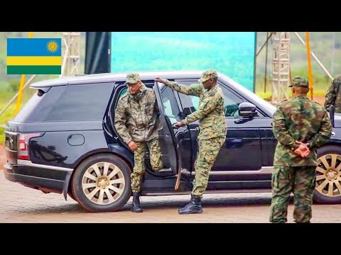 Dangerous Special ARMY of Africa from RWANDA by President KAGAME: Special training