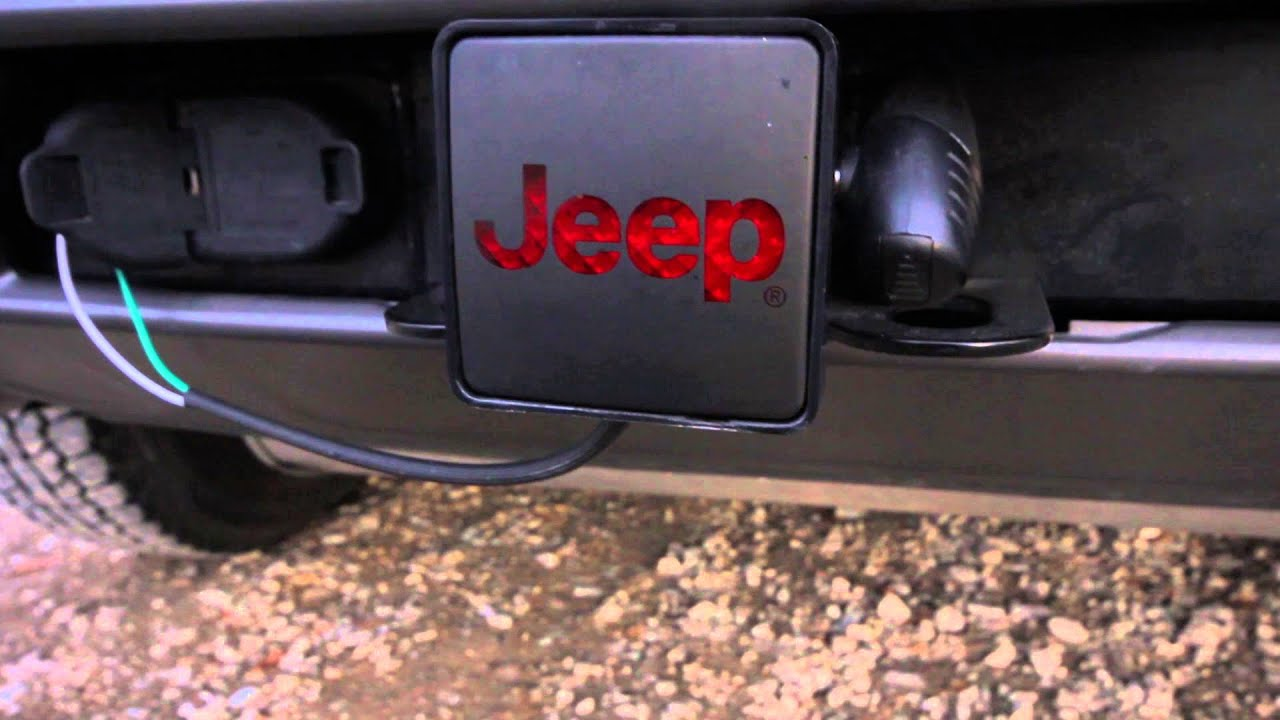 2016 Jeep Cherokee Trailhawk Trailer Hitch Plug  YouTube