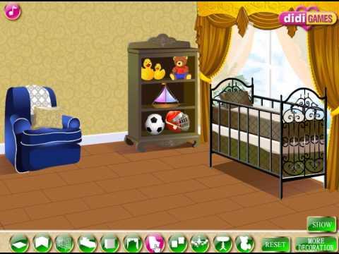 Royal Baby Room (Переделки: Комната для принца) - прохождение игры