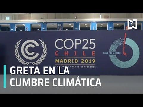 Greta Thunberg llega por sorpresa a COP25 - Expreso de la Mañana