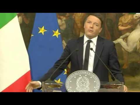 """Renzi: """"Non ce l'abbiamo fatta. Volevamo vincere, non partecipare"""""""
