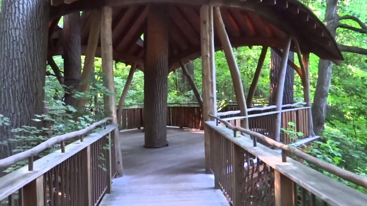 Kennett Square, Pennsylvania   Longwood Gardens   Lookout Loft Treehouse HD  (2015)