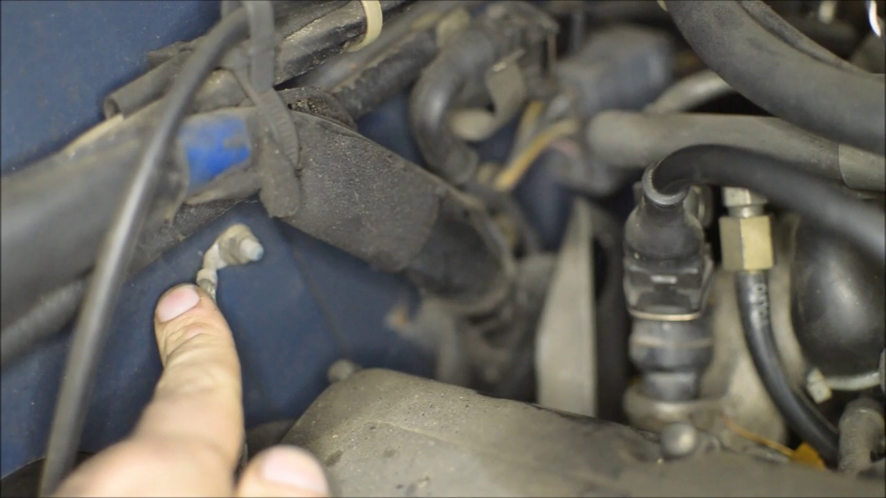 volvo 240 grounding wire locations and maintenance [ 1280 x 720 Pixel ]
