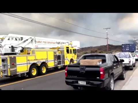 Kona brushfire update (Saturday evening) - Glen Honda