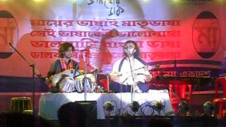 baul song by satyaki banerjee in a programme in silchar
